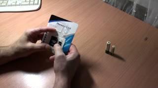 Обзор Micro SD 32 ГБ, аккумуляторные батарейки.