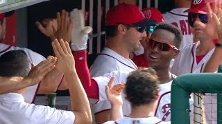 Daily Recap: Daniel Murphy's four RBIs and Trea Turner's first five...