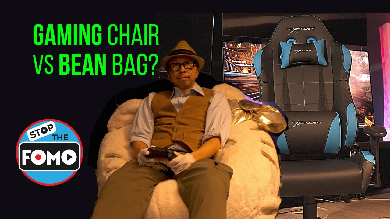 EWIN Gaming Chair vs Hello Kitty Bean Bag Black Friday Review