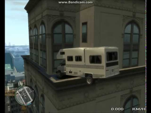 GTA IV Steed Camper Crash Test