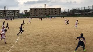 U−13リーグ vs八幡中学 後半