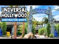 Jurassic World Ride Walls are DOWN & More! | Universal Studios Hollywood