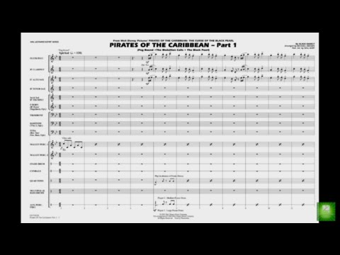 Pirates of the Caribbean - Part 1 by Badelt/arr. Brown