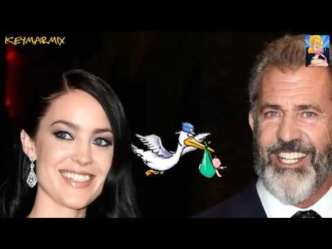 Mel Gibson a  sus 60 años  tendrá su noveno hijo con su actual pareja de 26