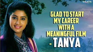 Glad to Start My Career With a Meaningful Film - Tanya on Brindhavanam