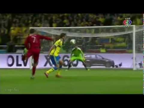 ไฮไลท์จัดเต็ม!! สวีเดน vs โปรตุเกส เครดิต นายลูกเจี๊ยบ