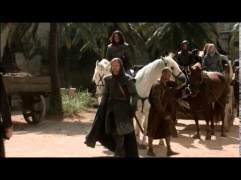 Eddard Stark arrives at King's Landing