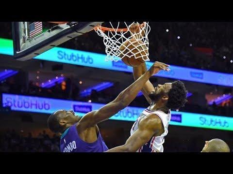 Fultz Spin Layup, Huge Slam! Embiid 1 Hand Tip Slam! 2018-19 NBA Season
