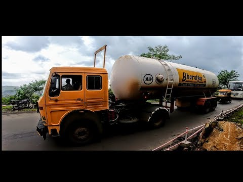 full loaded Bharat Gas Tanker