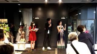 渋谷ヒカリエ8/CUBE開催 『渇花』トークライブ.