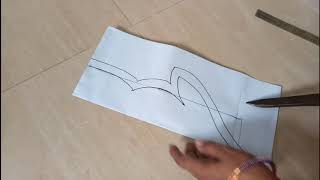 New and easy different model blouse neck design cutting in hindi