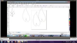 Tutorial Membuat Bunga dan daun Corel draw #PART 1
