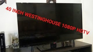 40 inch Westinghouse 1080p LED HDTV Review