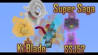 Mod Update Showcase - DBC Super Story mode, Ki Blade, and SSJ5?