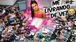 ME LIVRANDO DAS MINHAS MAKES!