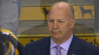 TD Garden tribute to Claude Julien has Bruins fans on their feet