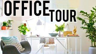 MY OFFICE TOUR | Meghan Rienks