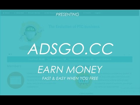 Adsgo.cc | How To Earn Money Online | Fast Easy And Secure