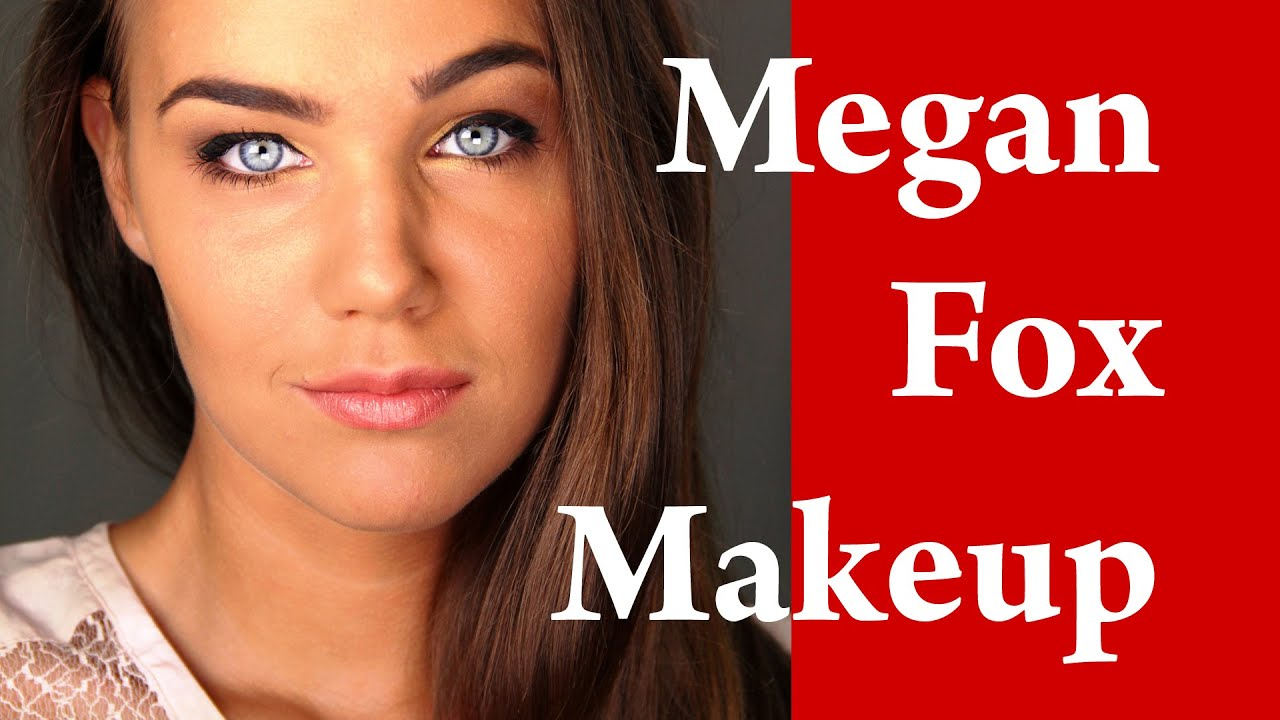 megan fox makeup tutorial makeover transformation with