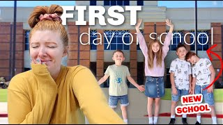 *emotional* FIRST day at their new school (24 hours)