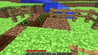 Minecraft Tutorials - 08 - How to Survive & Thrive (Farming)
