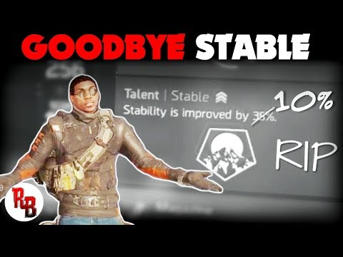 The Division  I  Goodbye STABLE