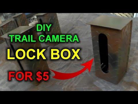 DIY Trail Camera Lock Boxes