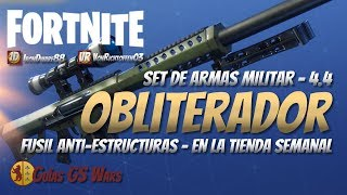FORTNITE OBLITERADOR Anti-Structure Rifle Save the World Weekly Shop ? Patch 4.4