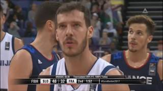 Goran Dragić Full Highlights vs France | 22 Points 8 Assists on 10 Shots | Eurobasket 2017 thumbnail