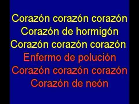 Corazon de Neon -  Orquesta Mondragon -  karaoke   Tony Ginzo