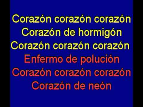 Corazon De Neon Orquesta Mondragon Karaoke Tony Ginzo Youtube