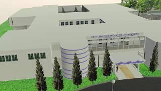 Mô hình 3d Khoa Công nghệ Thông tin Đại học Cần Thơ