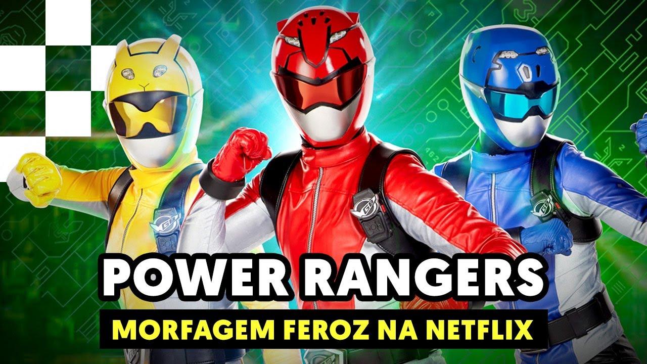Power Rangers Morfagem Feroz Na Netflix Mais Geek Tokusatsu