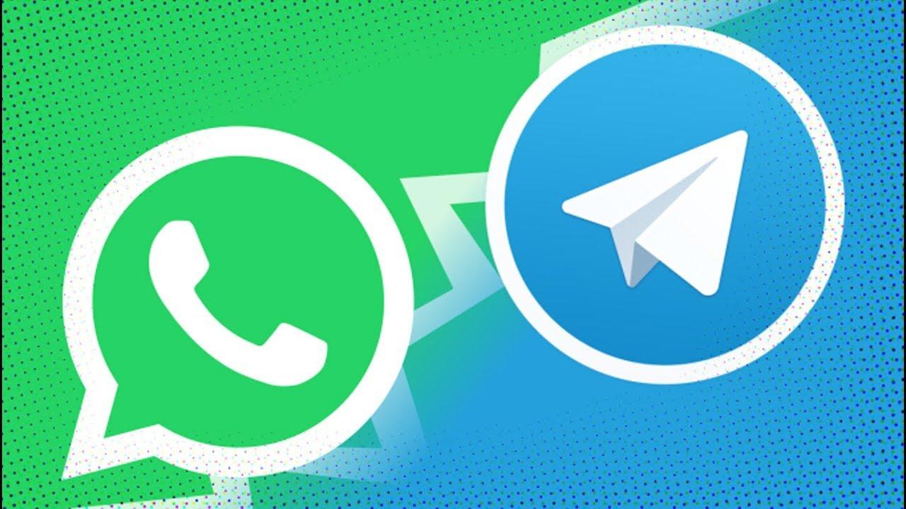 Resultado de imagem para whatsapp vs telegram