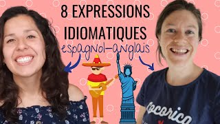 APPRENDRE L'ANGLAIS et L'ESPAGNOL en même temps ! 8 expressions idiomatiques à connaître screenshot 5