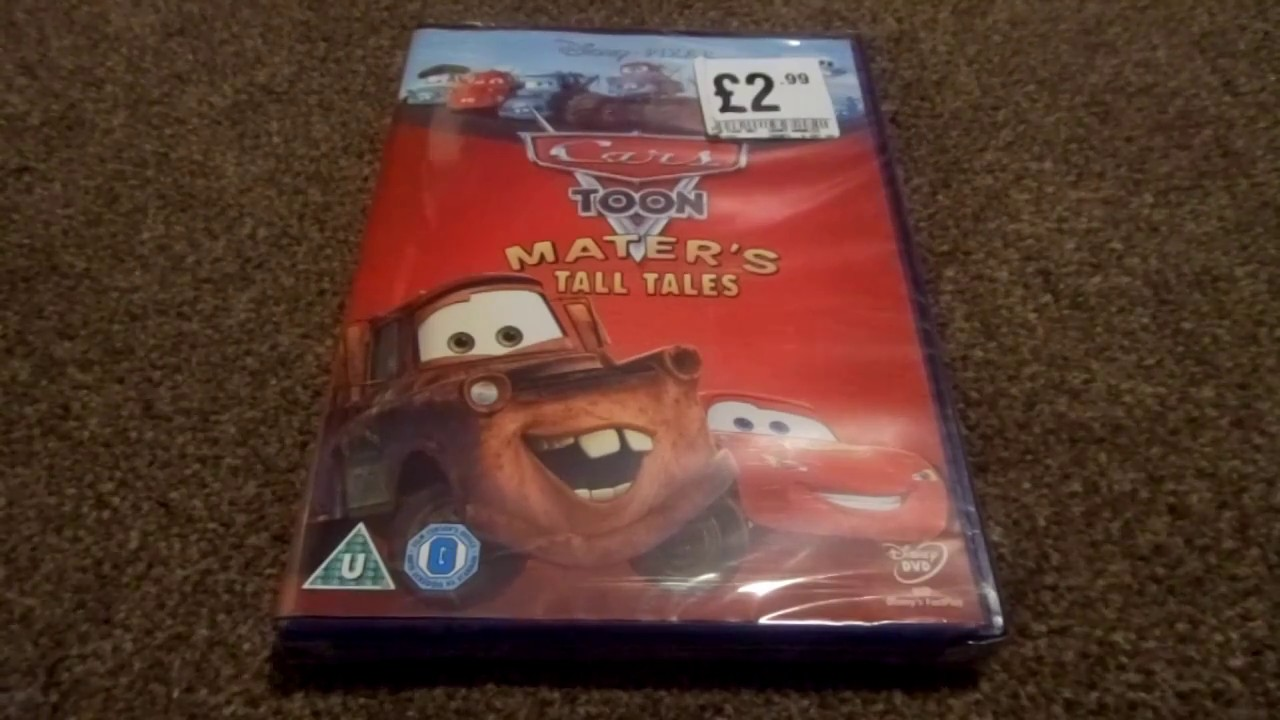 Cars And Cars  Dvd Box Set