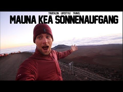 Mauna Kea Vulkan - Sonnenaufgang auf 4205 Meter