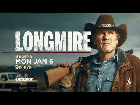 LONGMIRE Premieres On Outdoor Channel January 6th At 9 PM E/P!
