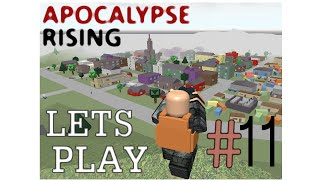 ROBLOX: Apocalypse Rising Let's Play (#11) w/ Friends Live Commentary HD - Group Dies