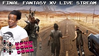 Austin Creed dives into the world of Final Fantasy XV! — UpUpDownDown Streams