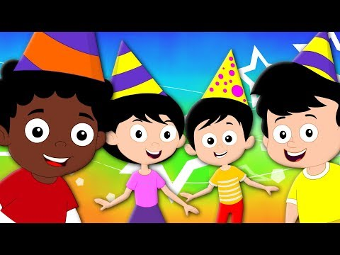 Happy Birthday Song | Songs For Kids And Childrens | Birthday Party Song