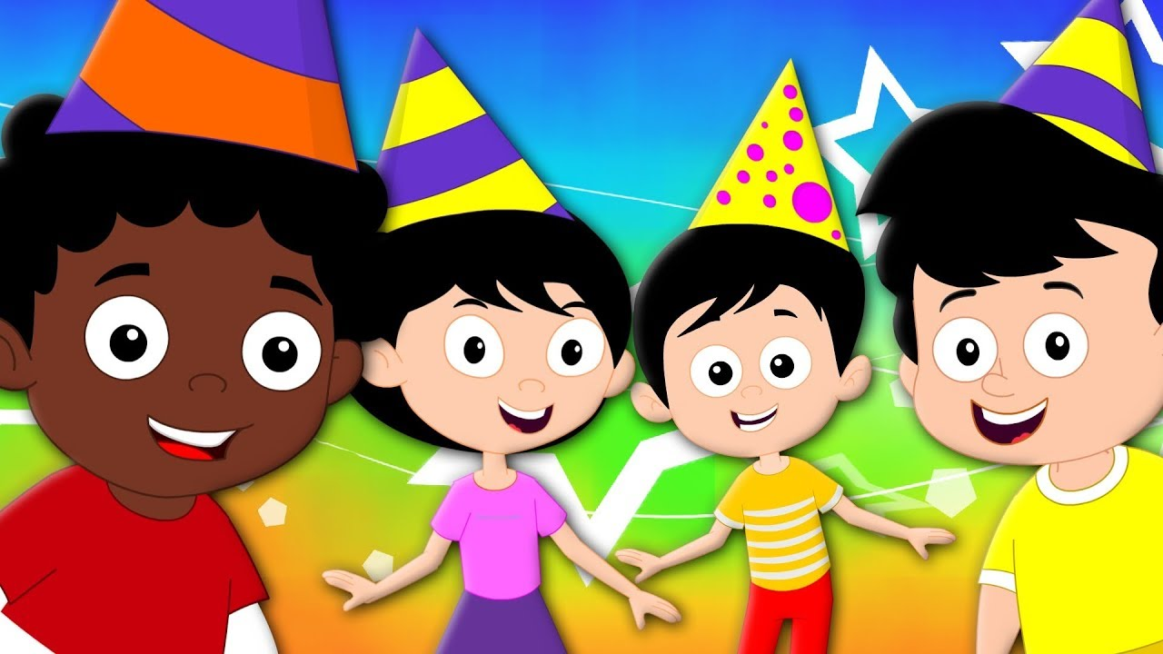 Happy Birthday Song For Kids And Childrens Birthday Party Song