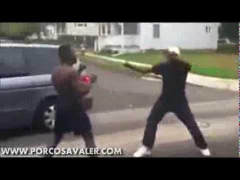 Instigator Gets Knocked Out REMIX