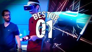 BEST OF : Jeu de rythme sur PSVR avec Xari et Hugo Délire ! #1