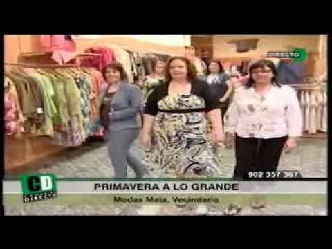 Tallas Grandes Tienda De Ropa Tallas Grandes En Gran Canaria Modas Mata Tallas Grandes Youtube