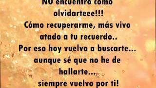 Victor Manuelle ft Reik-Una vez más (letra)