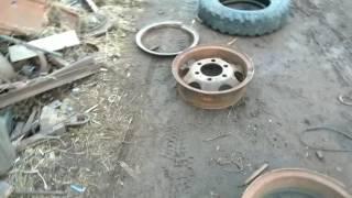 Переделываем диски от ГАЗона под другую колею, уменьшиваем колею!