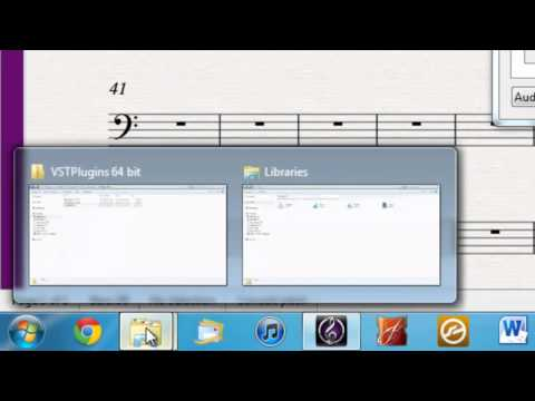 Kontakt 5 Player and Sibelius 7 - Finding the VST Plugin
