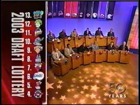 Full 2003 NBA Draft Lottery (LeBron, Darko, Carmelo)