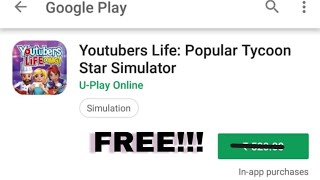 How to download YouTuber's life game for free